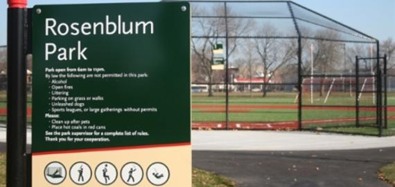 Welcome to Rosenblum Park
