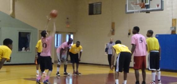 Teen Basketball at Warren Park