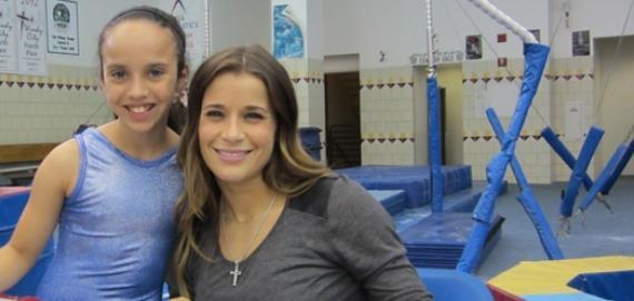 Alicia Sacramone, 2008 Olympic Gymnast