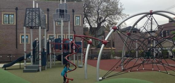 Margaret Donahue Park playground