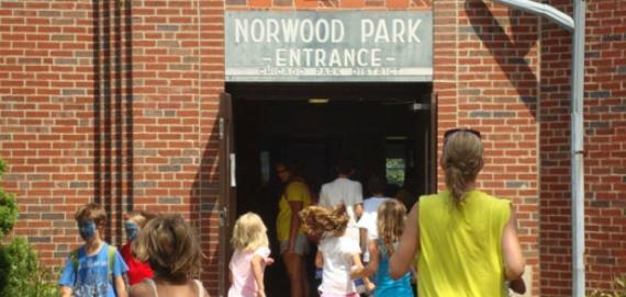 Norwood Park - Fieldhouse Entrance