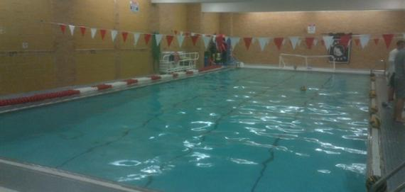 Indoor Pool at Amundsen H.S.