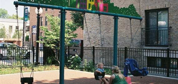 Playground for children at Park 535