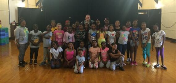 Our awesome day campers.