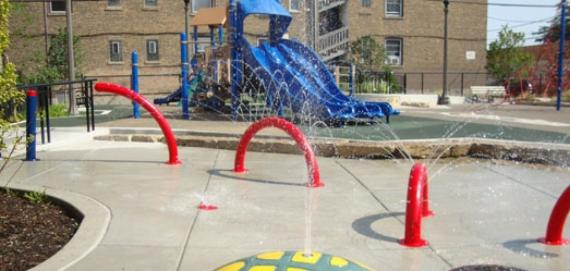 Playground at Lucy Parson Park