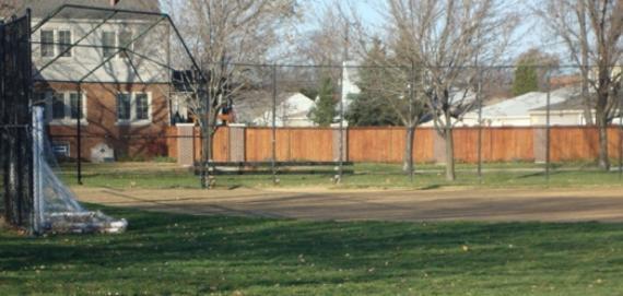 Baseball Field at Austin Playlot Park