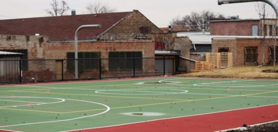 La Villita Volleyball Courts