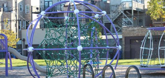 Brand new playground apparatus