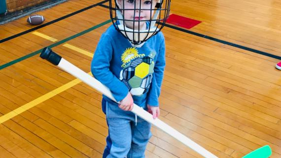 Anyone up for a game of floor hockey?