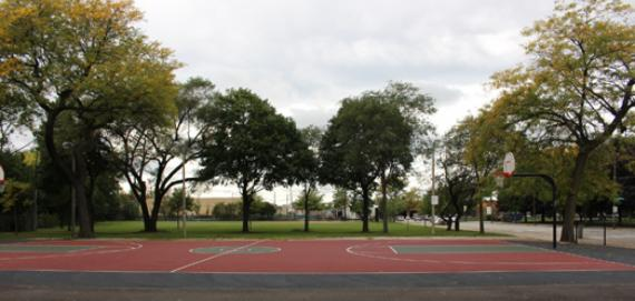 Basketball court at Horan Park