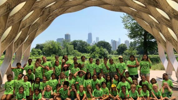 Our campers had a blast visiting the zoo!