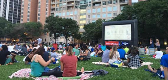 Movies in the Park at Lake Shore