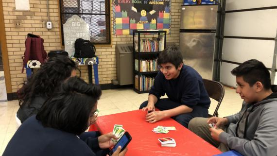 Our teens love games!