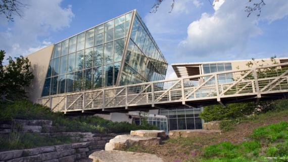 Outside view of Peggy Notebaert Nature Museum