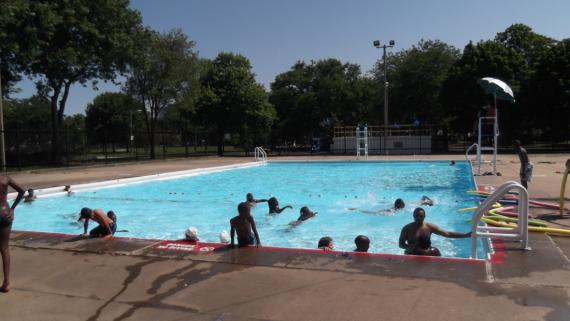 Russell Square Park Pool