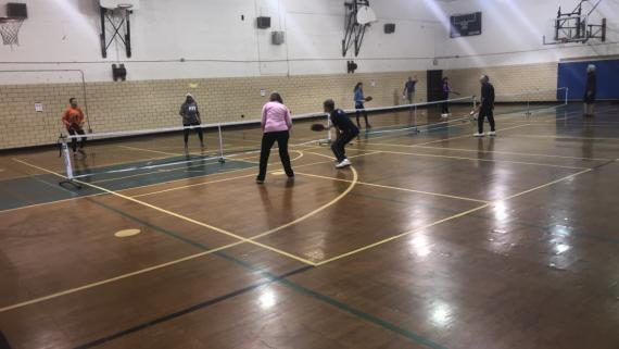 We love pickle ball at Margate!