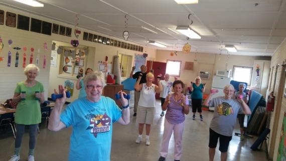 Fitness classes for seniors!