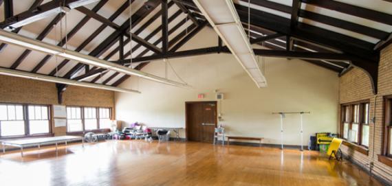 Dance room at Seward Park