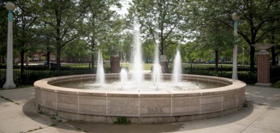 Seward Park Fountain