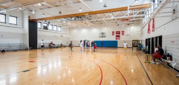 The gymnasium at Taylor Park