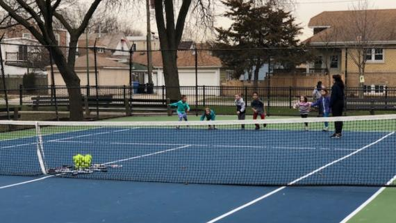 Join us for tennis!