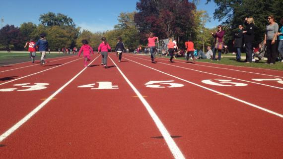 Track at River Park