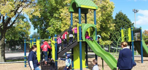 The Chicago Plays! Playground at Vittum