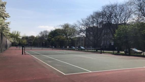 Tennis Courts at Indian Boundary Park