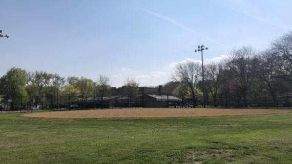 Baseball fields at Pottawattomie Park
