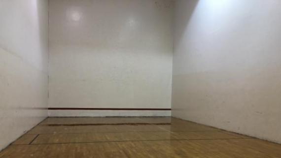 Raquetball Court at Pottawattomie Park