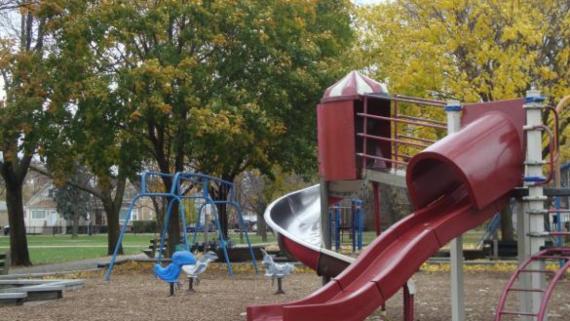 Playground at Shabbona Park