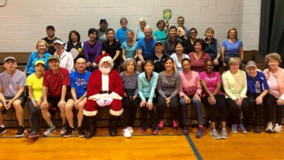 Happy Holidays from our Pickelball Club!