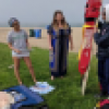 Community Water Safety Training at 12th St. Beach